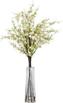 Online Designer Living Room Cherry Blossoms with Vase Silk Floral Arrangements