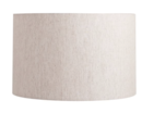 Online Designer Combined Living/Dining LINEN STRAIGHT-SIDED LAMP SHADE for side table