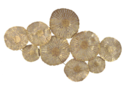 Online Designer Living Room Wall Circle Decor in Gold
