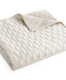 Online Designer Bedroom Woven Texture King Coverlet