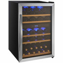 Online Designer Combined Living/Dining 29 Bottle Cascina Series Dual Zone Freestanding Wine Refrigerator