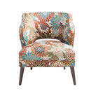 Online Designer Living Room Nolan Floral Mod Side Chair