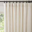 Online Designer Living Room Emery Linen/Cotton Pole Pocket Drape