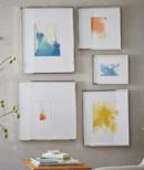 Online Designer Living Room Gallery Frame, Polished Nickel, Set Of 4