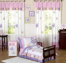 Online Designer Kids Room Butterfly Pink and Purple Toddler Bedding Collection