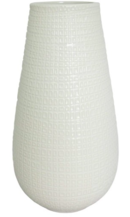 Online Designer Bathroom Textured Ceramic Vase White Tall - Threshold™