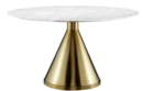 Online Designer Dining Room Command Carrara Marble Dining Table