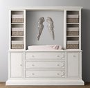 Online Designer Kids Room changing table wall unit