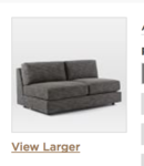 Online Designer Living Room Build Your own Urban Sectional Pieces