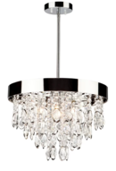 Online Designer Living Room Delesha 4-Light Crystal Chandelier