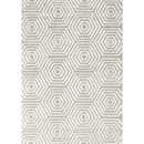 Online Designer Living Room Boulevard Light Gray/White Area Rug by Kalora