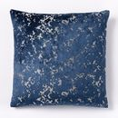 Online Designer Living Room Jacquard Velvet Distressed Pillow Cover