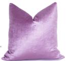 Online Designer Living Room Glisten Velvet Pillow Cover - Orchid Lavander
