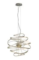 Online Designer Combined Living/Dining CALLIGRAPHY 2-LIGHT GEOMETRIC CHANDELIER