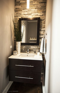 Online design Contemporary Bathroom by Nadia G. thumbnail