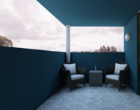Online design Contemporary Combined Living/Dining by Annika M. thumbnail