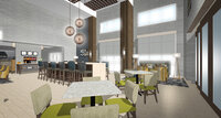 Online design Contemporary Combined Living/Dining by Viktoriya A. thumbnail