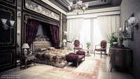 Online design Traditional Bedroom by Fares N. thumbnail