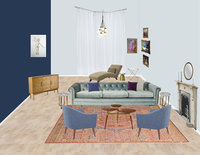Online design Eclectic Living Room by Lanny A. thumbnail