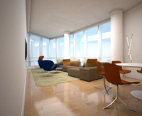 Online design Modern Living Room by Lanny A. thumbnail