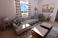Online design Traditional Living Room by Jamie S. thumbnail