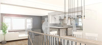 Online design Transitional Combined Living/Dining by Sonia C. thumbnail