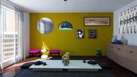 Online design Eclectic Dining Room by Brian S. thumbnail