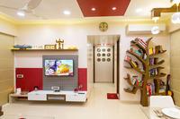 Online design Transitional Combined Living/Dining by Gargi K. thumbnail