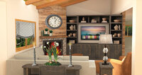 Online design Transitional Living Room by Courtney H. thumbnail