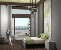 Online design Contemporary Bedroom by Lauren Z. thumbnail