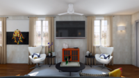 Online design Contemporary Living Room by Annika M. thumbnail