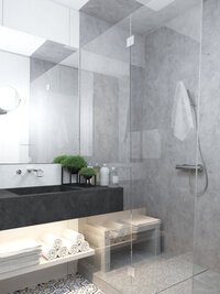 Online design Contemporary Bathroom by Kate S thumbnail