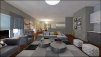 Online design Modern Living Room by Annika M. thumbnail