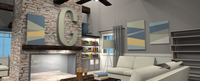 Online design Living Room by Amber F.  thumbnail