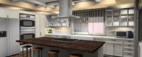 Online design Kitchen by Amber F.  thumbnail