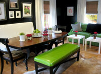 Online design Transitional Combined Living/Dining by Sue R. thumbnail
