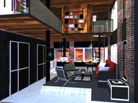 Online design Contemporary Living Room by Ha H. thumbnail