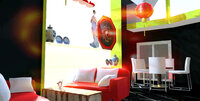 Online design Eclectic Combined Living/Dining by Ha H. thumbnail