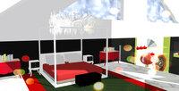 Online design Eclectic Bedroom by Ha H. thumbnail