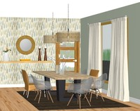 Online design Contemporary Dining Room by Silvia K. thumbnail
