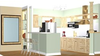 Online design Country/Cottage Kitchen by Silvia K. thumbnail