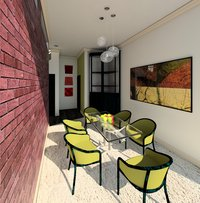 Online design Contemporary Dining Room by Alexis G. thumbnail