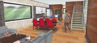 Online design Combined Living/Dining by Kate S. thumbnail