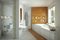 Online design Contemporary Bathroom by Kinga P thumbnail