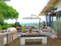 Online design Contemporary Living Room by Kerry L thumbnail