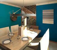 Online design Transitional Dining Room by Marne C. thumbnail