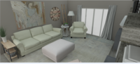 Online design Country/Cottage Living Room by Peggy R. thumbnail