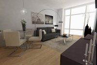 Online design Contemporary Living Room by Michelle C thumbnail