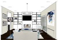 Online design Living Room by Andrea T.  thumbnail