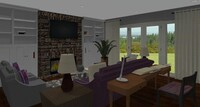 Online design Combined Living/Dining by Jennifer J. thumbnail